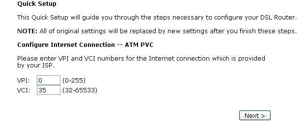 ZTE ZXDSL 831 set in router mode
