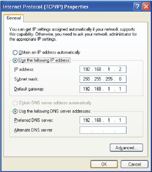 "... IP adress automatically"" dan ""Obtain DNS server address"